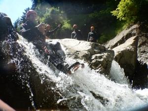 Canyoning Dornbirn Vorarlberg Alpinschule Bigeyes