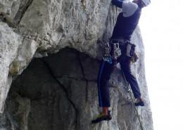 Klettern am Kaiser